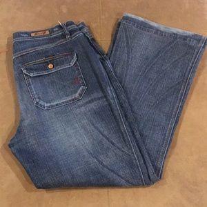 Women's 7 Seven Jeans Size 14 Flare